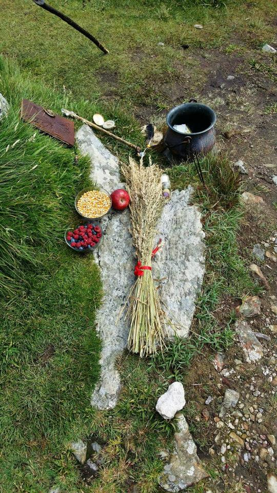 Pagan Life Rites Outdoor Altar